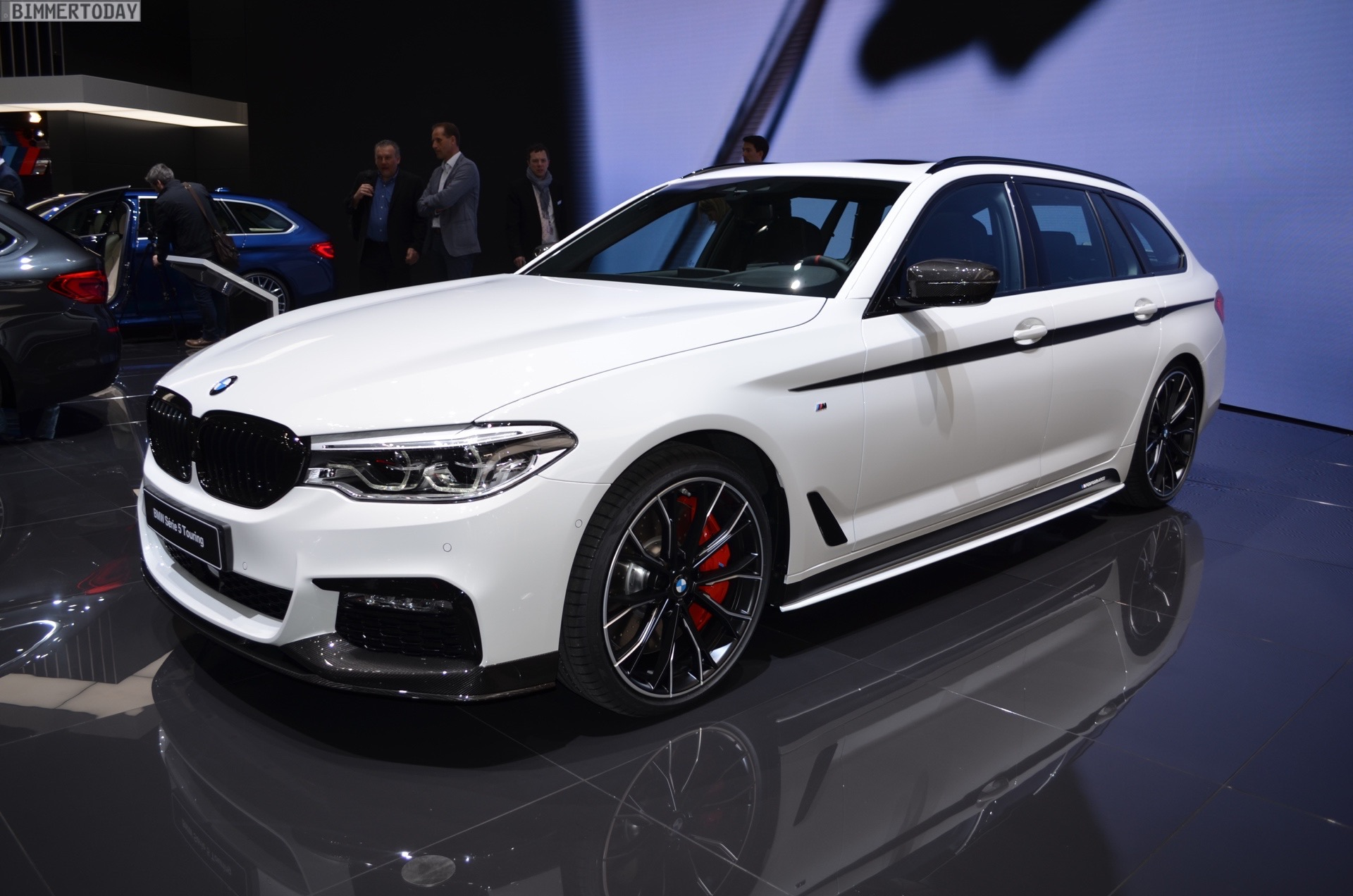 Genf 2017 Bmw M Performance Zeigt 5er Touring G31 Tuning