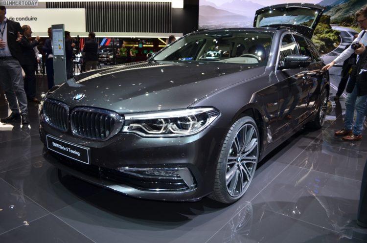 Genf 2017 Bmw 5er Touring G31 Als 540i Mit Luxury Line