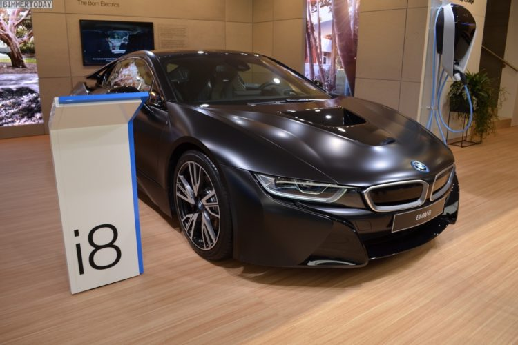 Genf 2017 Bmw I8 Protonic Frozen Black In Schwarz Matt