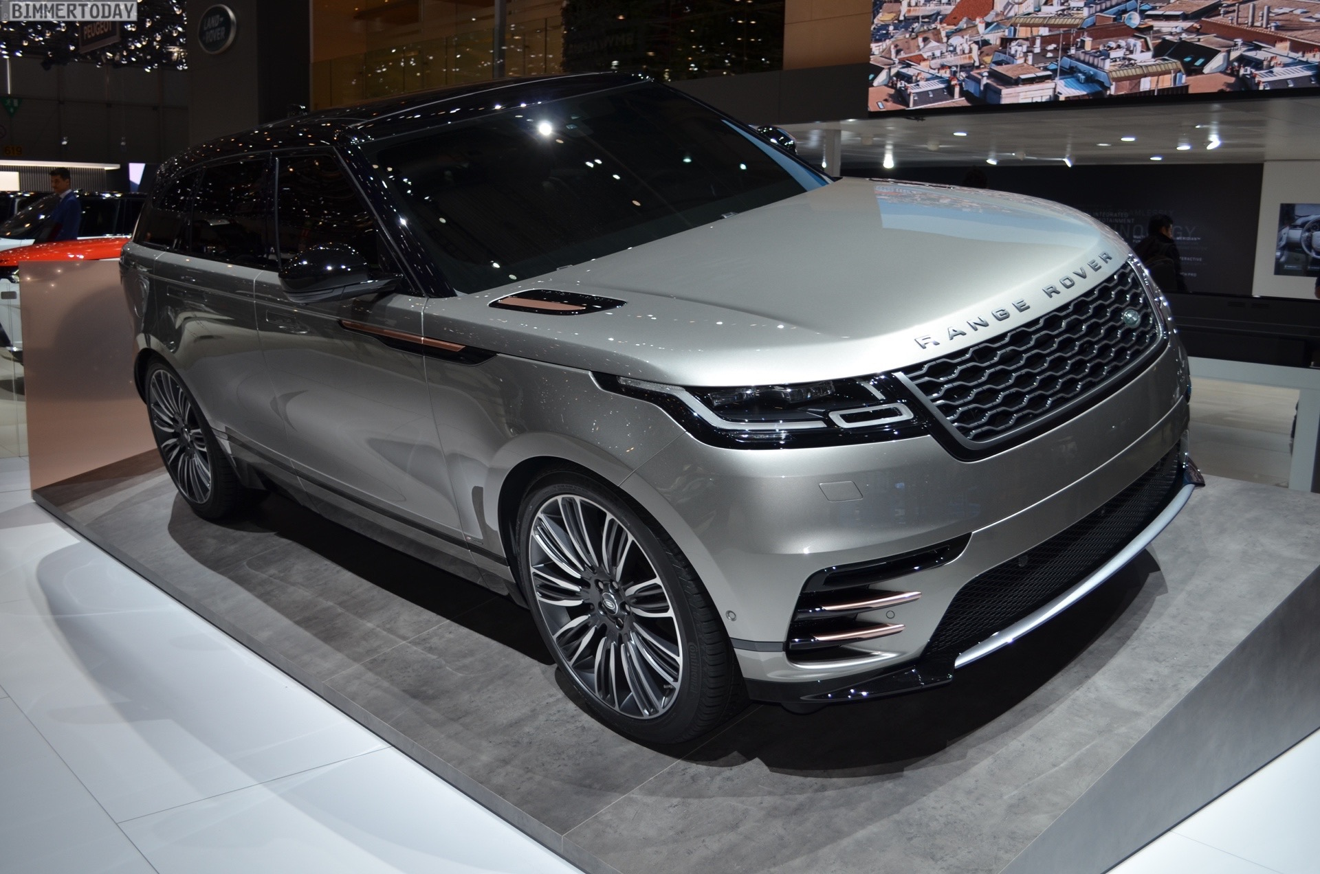 Genf 2017 Range Rover Velar Nimmt Bmw X5 Amp Co Ins Visier