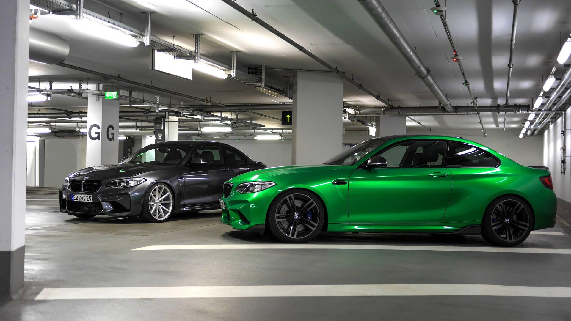 BMW M2 Im Doppelpack: Java Grün Trifft Mineralgrau Metallic