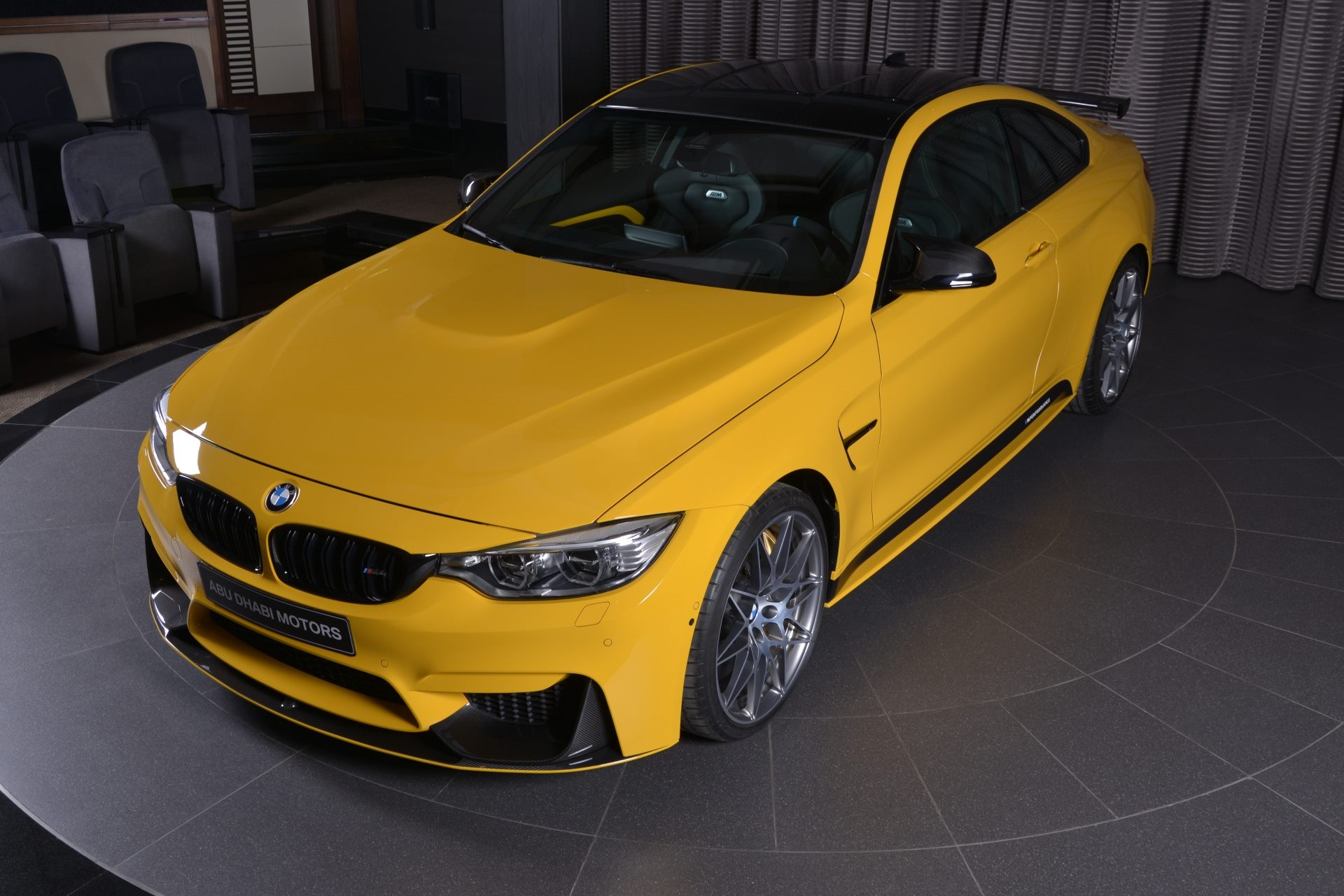 Speed Yellow Gelber Bmw M4 Competition Mit Tuning Zubeh 246 R
