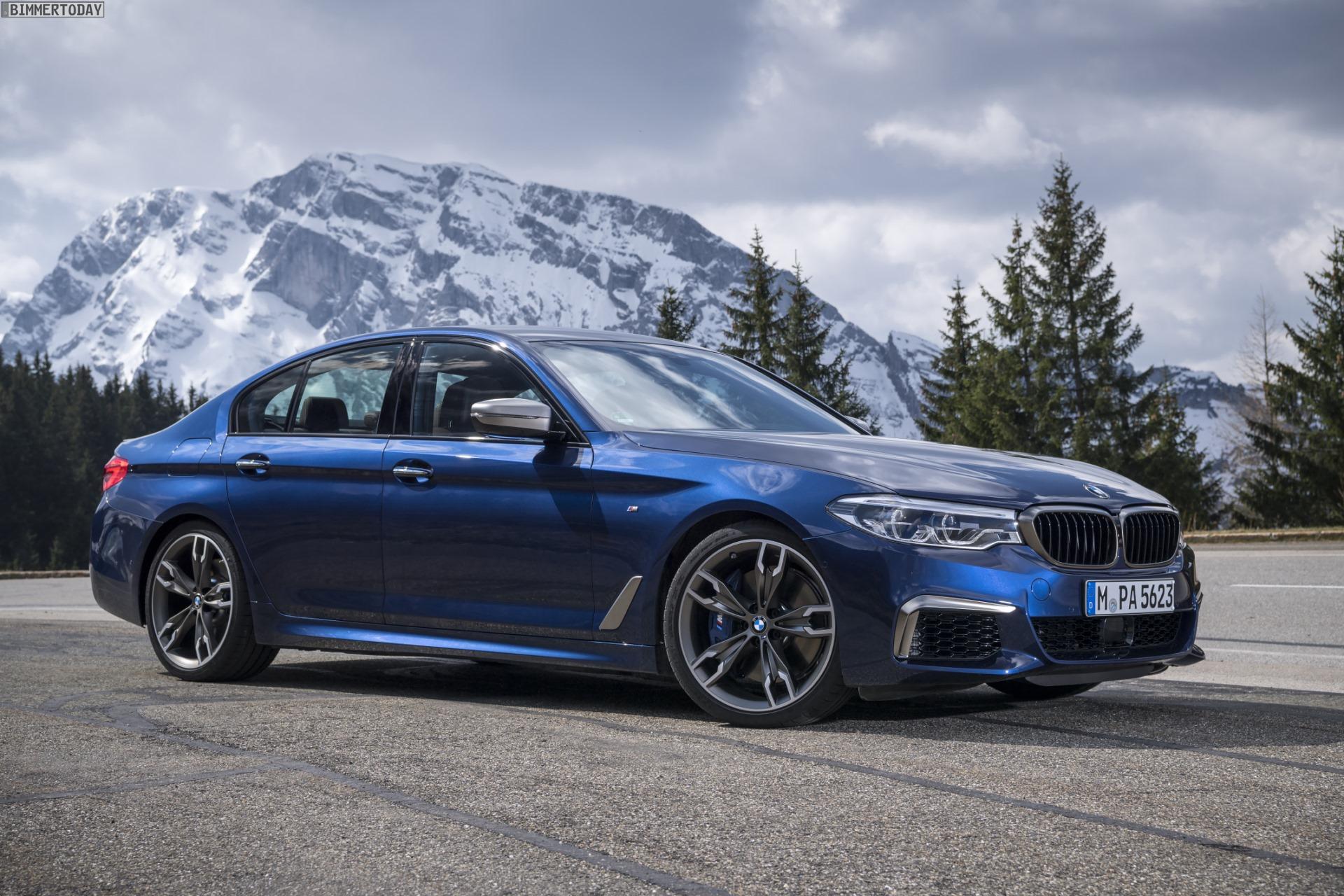 2021 BMW 550I Model