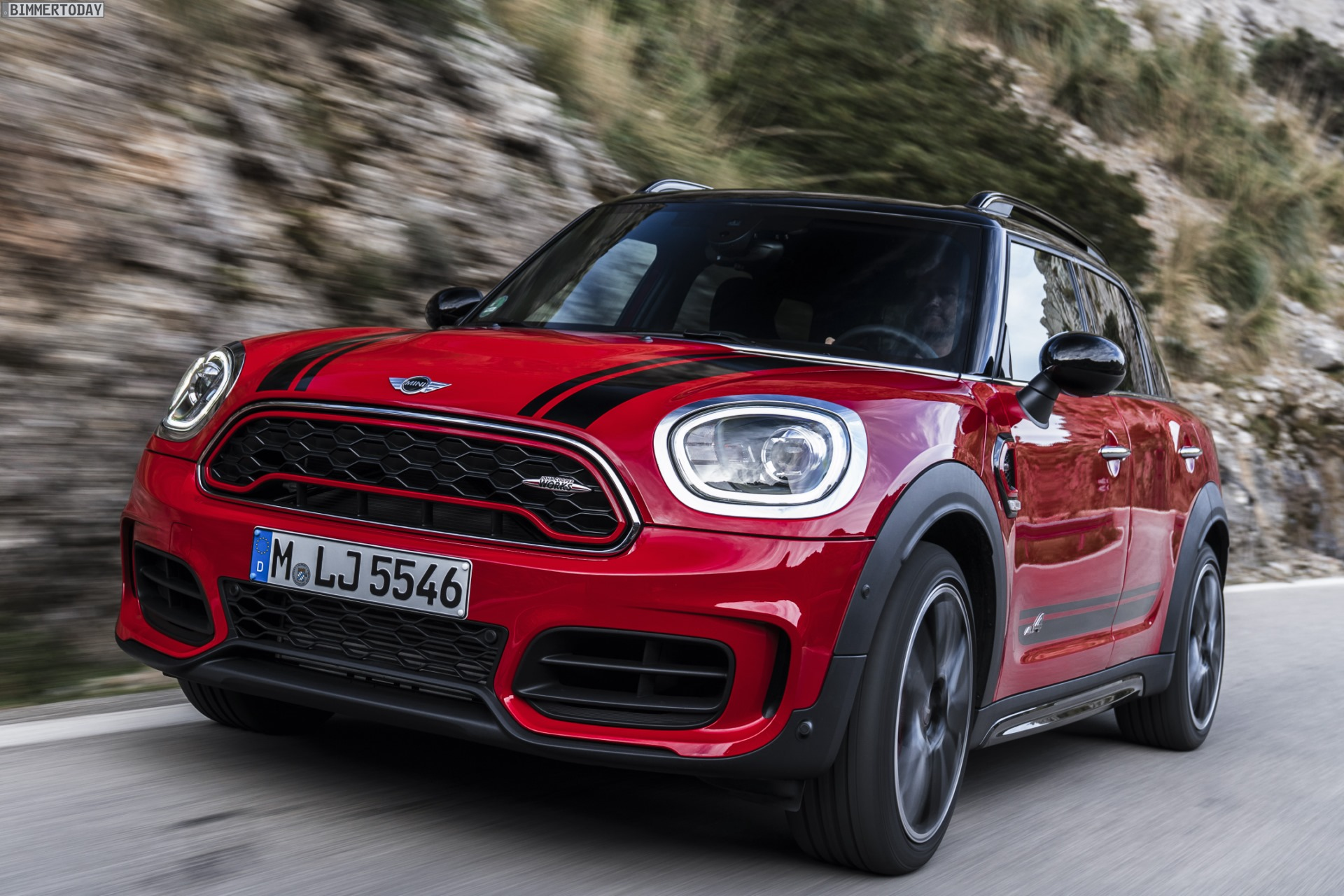 Mini Countryman John Cooper Works Neue Fotos Vom Top F60