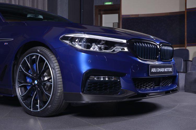 Bmw 5er G30 M Performance Tuning Trifft Mediterran Blau