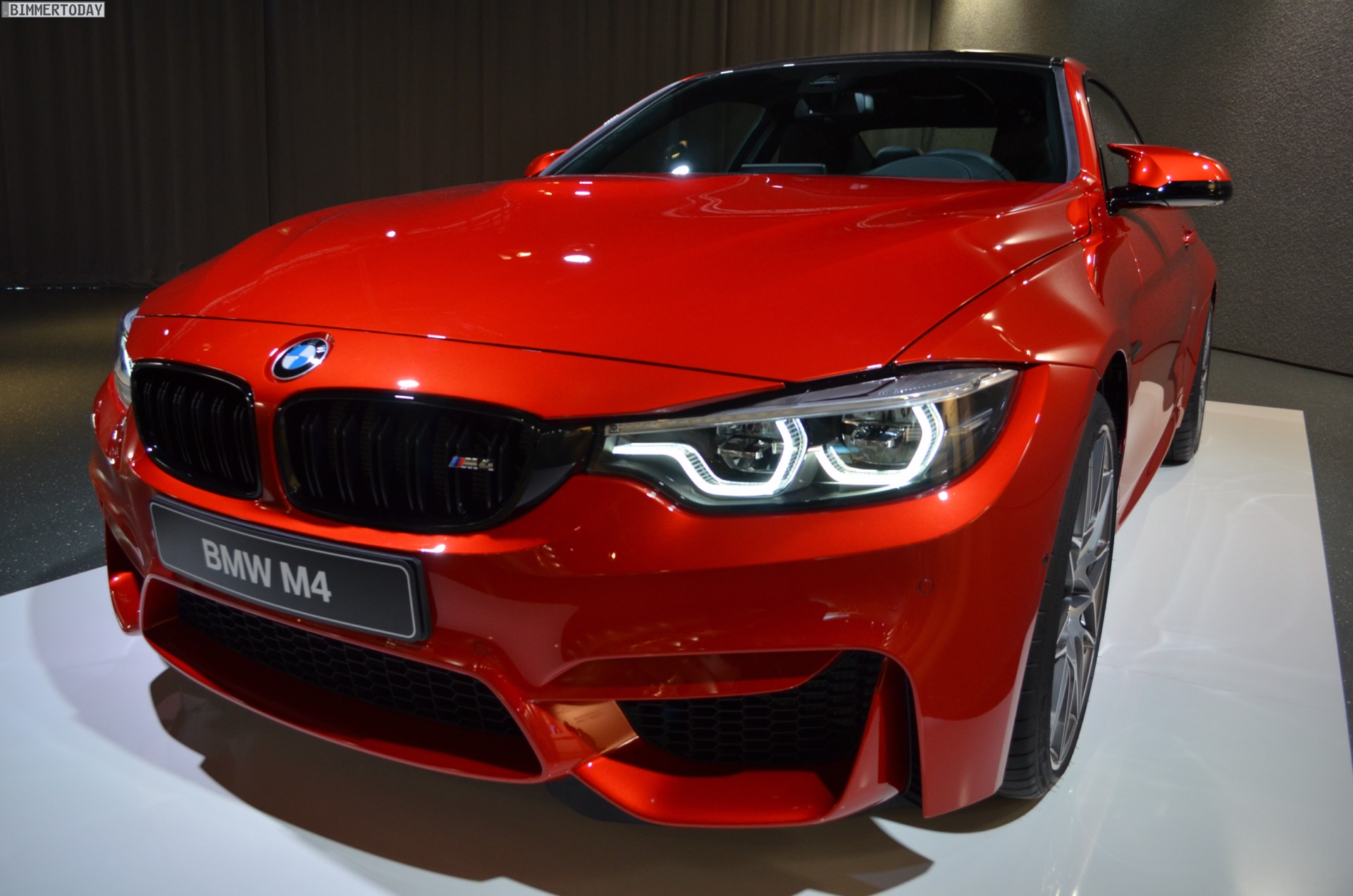 Bmw M4 Facelift 2017 F82 Lci In Kr 228 Ftigem Sakhir Orange Ii