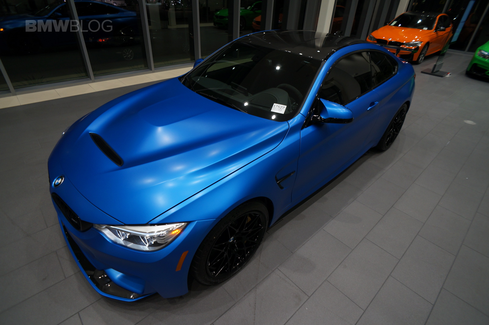 West Coast Customs Bmw M4 Gts In Satin Perfect Blue