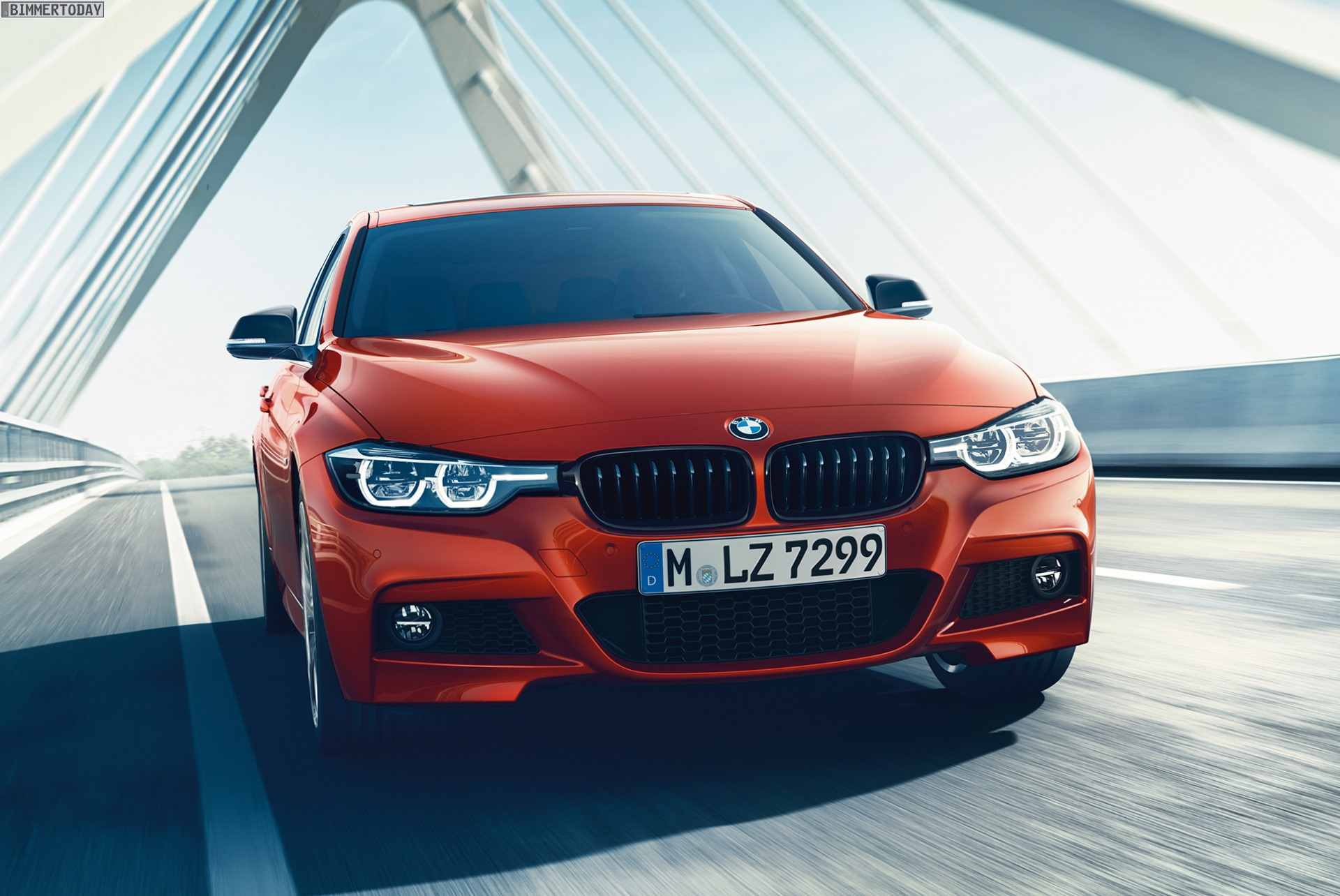 BMW 3er 2017: Sport Line und M Sport Shadow, Luxury Line ...