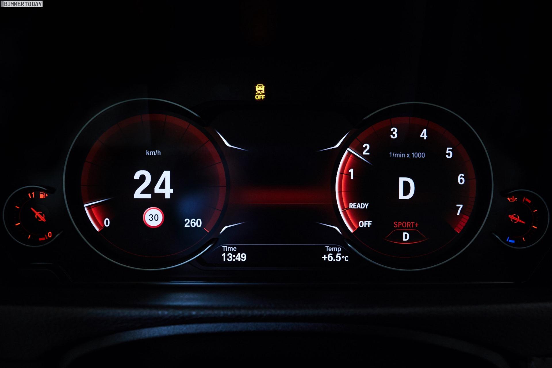 Alle Infos: Multifunktionales Instrumentendisplay für BMW