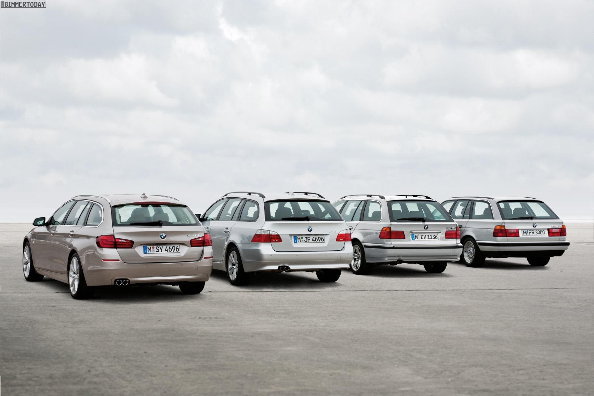 Bmw 5er Touring  St U00fcckzahlen Der Generationen E34  E39