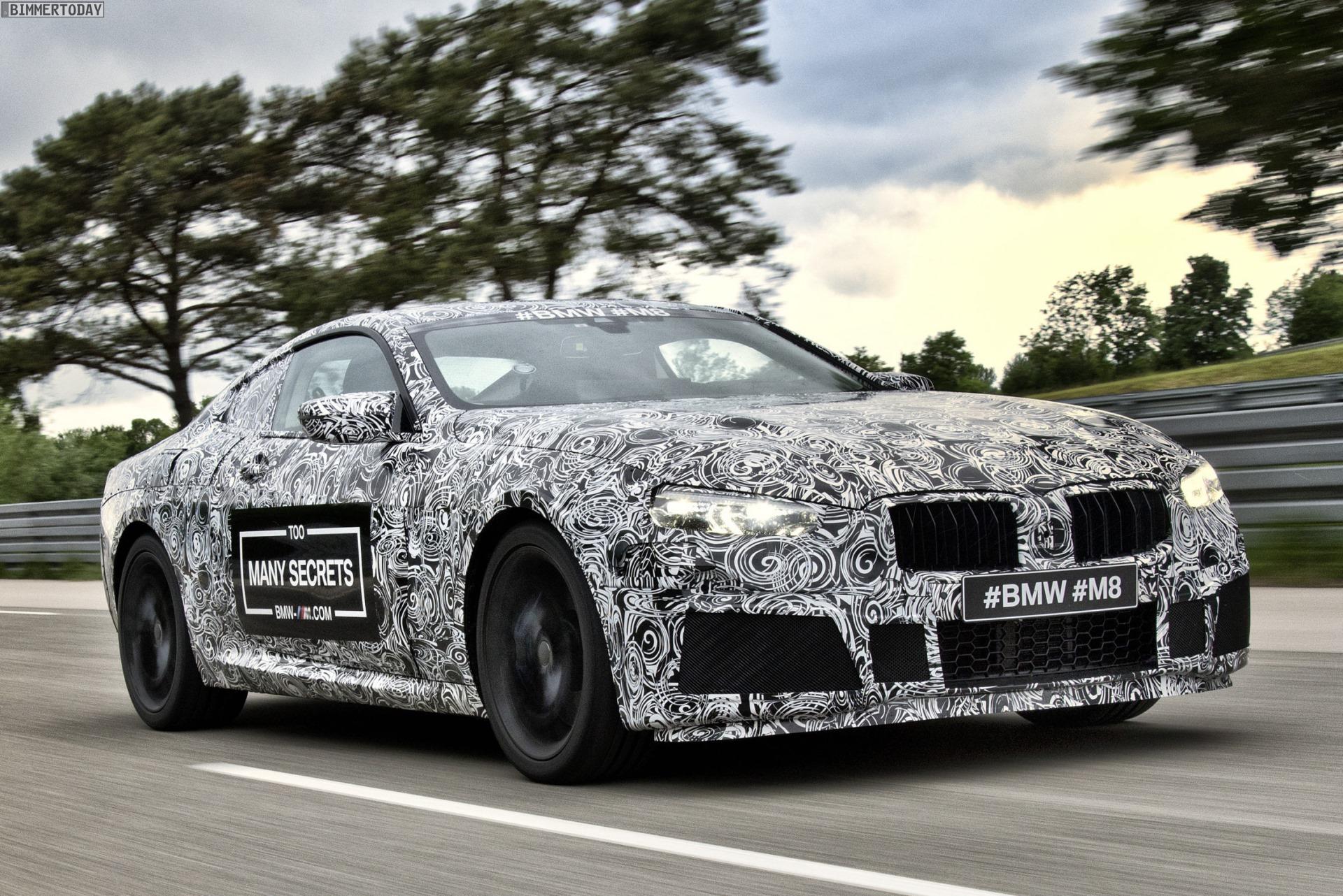 BMW M8 2019: Erlkönig-Fotos zeigen neuen Luxus-Sportler