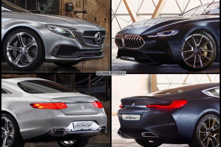 Showcar Vergleich Bmw 8er Vs Mercedes S Klasse Coupe