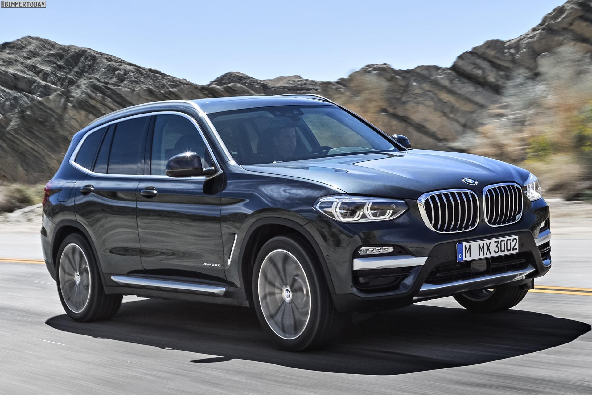 2017 Bmw X5 Redesign >> BMW X3 2017: Alle offiziellen Infos zum neuen X3 G01