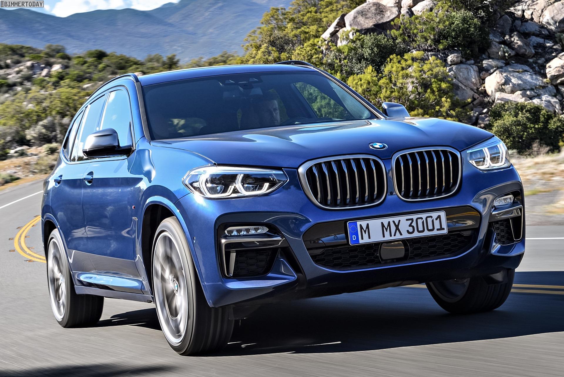 BMW X3 M40d G01 Neuer M Performance Diesel mit 326 PS
