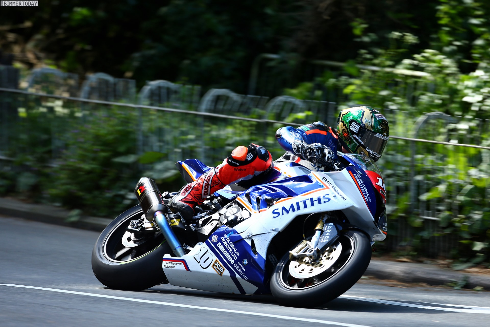 Isle Of Man Tt 2017 Bmw S 1000 Rr Holt Vierfach Sieg