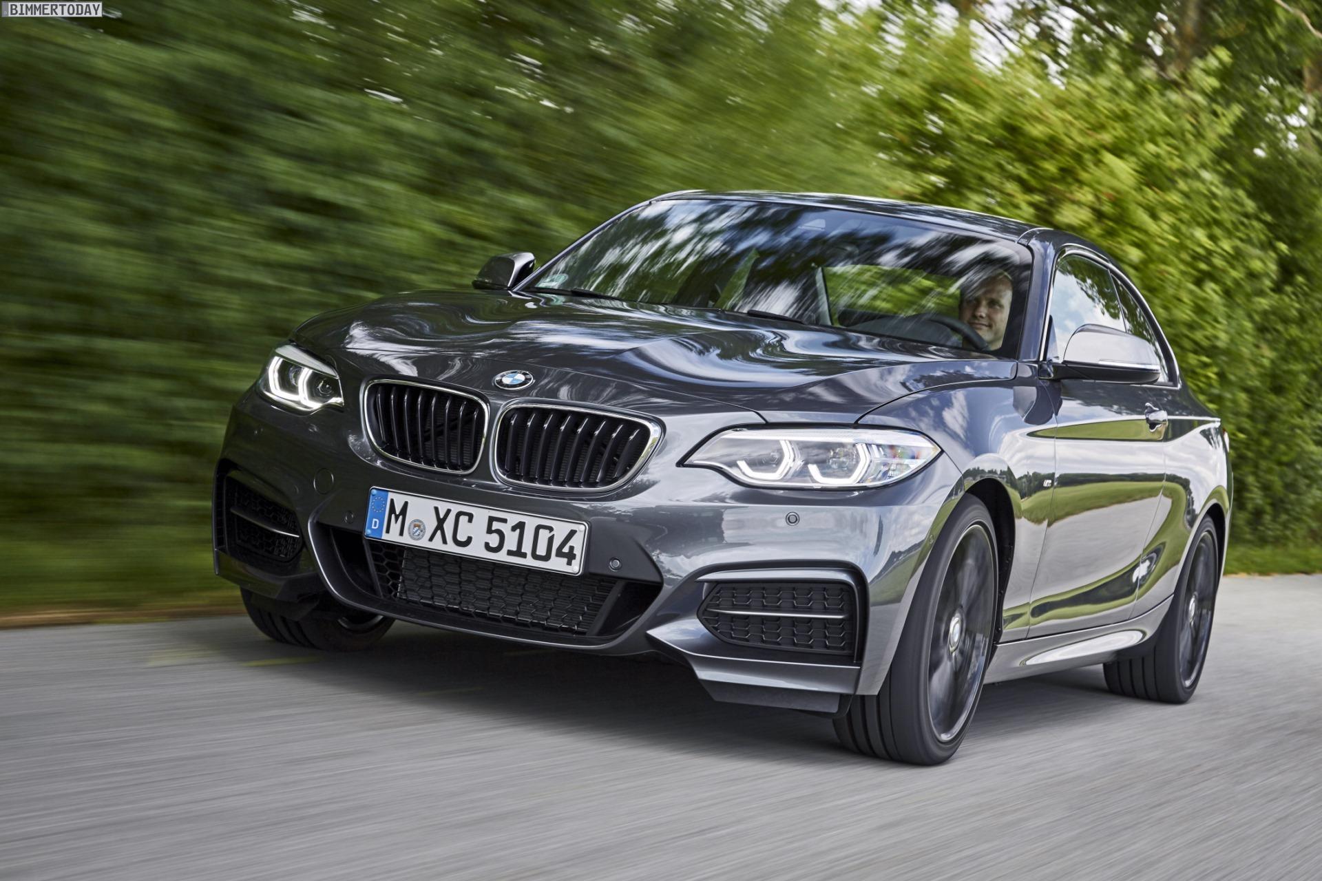 Fahrbericht Bmw M240i 2017 Interieur Facelift Statt Schminke