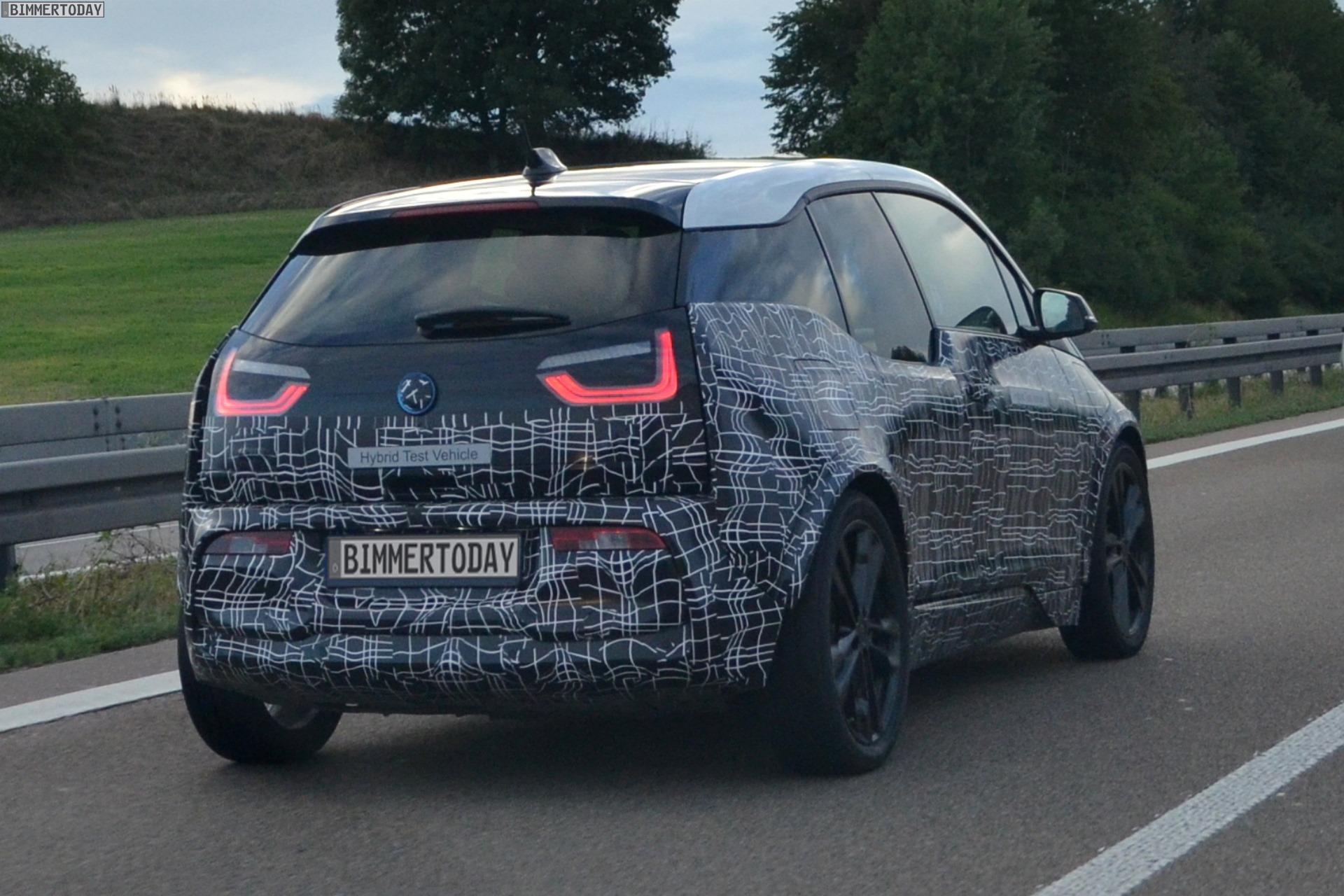 Bmw I3 S 2017 Facelift Erlkonig Mit Breiterer Spur Erwischt