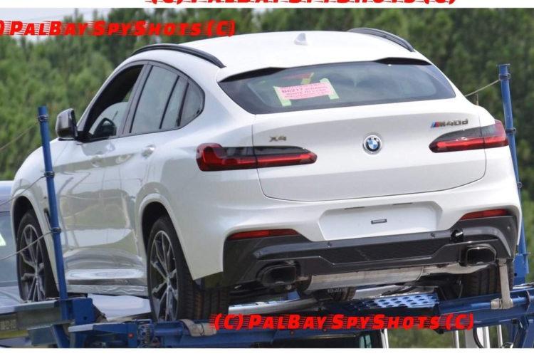 bmw x4 2018: fotos zeigen suv-coupé g02 in voller pracht