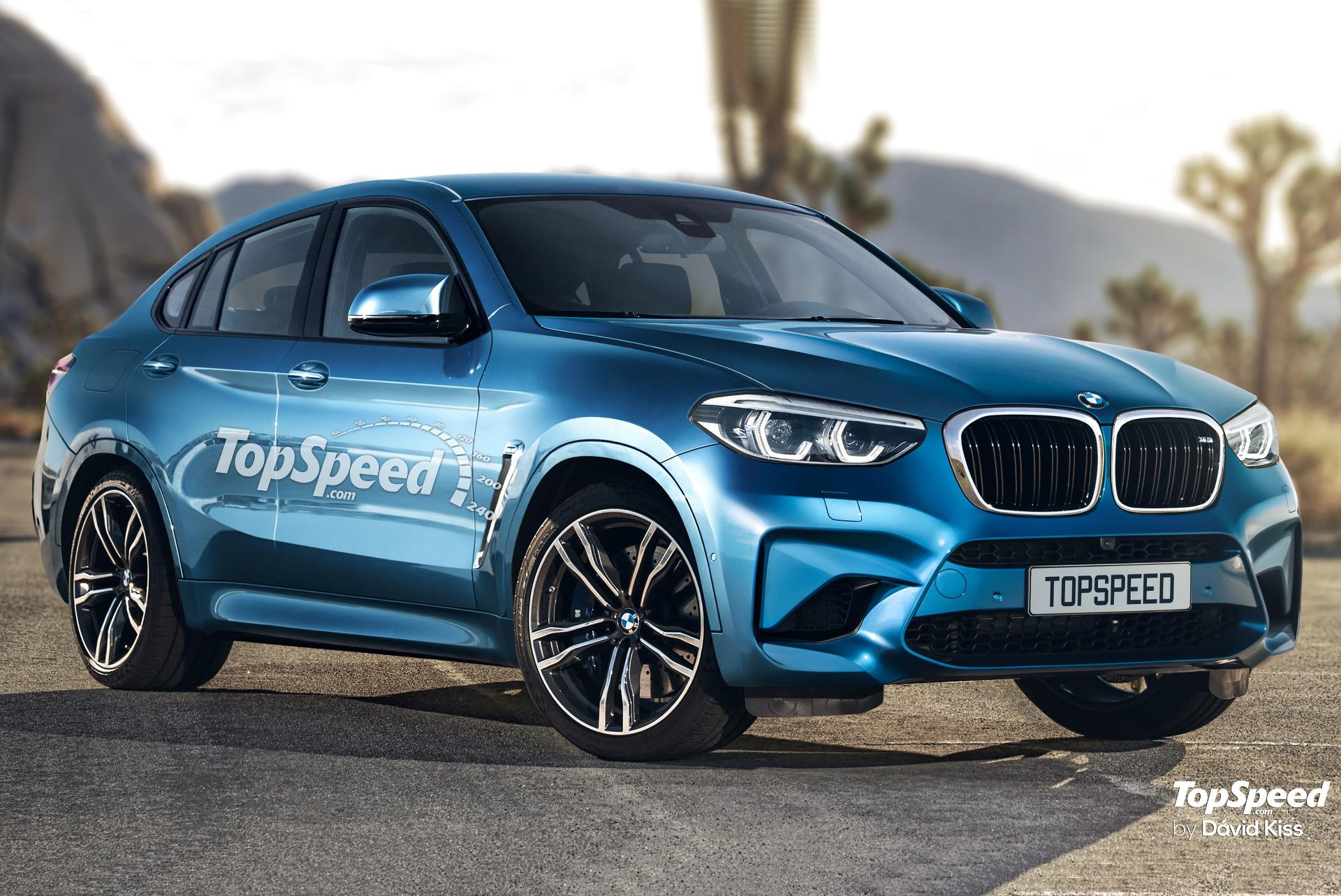 BMW X4 M 2019: Photoshop-Entwurf zum neuen Power-SUV