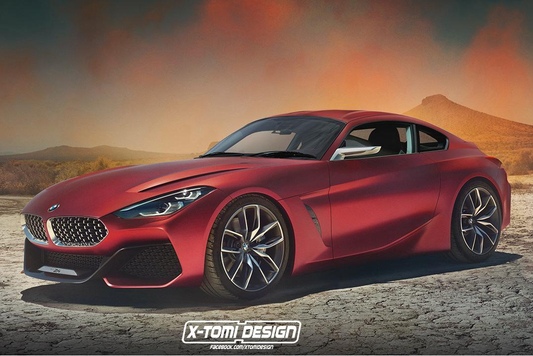 Supra 2019 >> BMW Z4 Coupé 2019: Leider nur ein Traumwagen