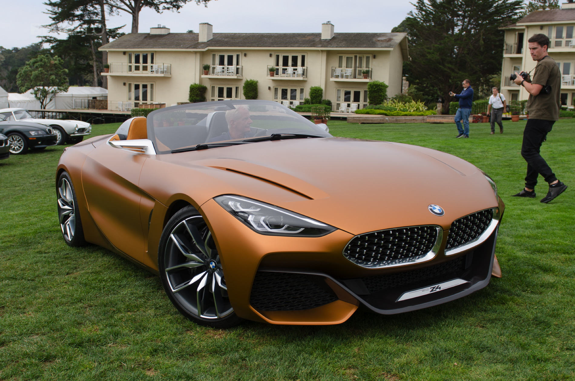 Pebble Beach 2017 Live Fotos Zeigen Bmw Z4 Concept G29
