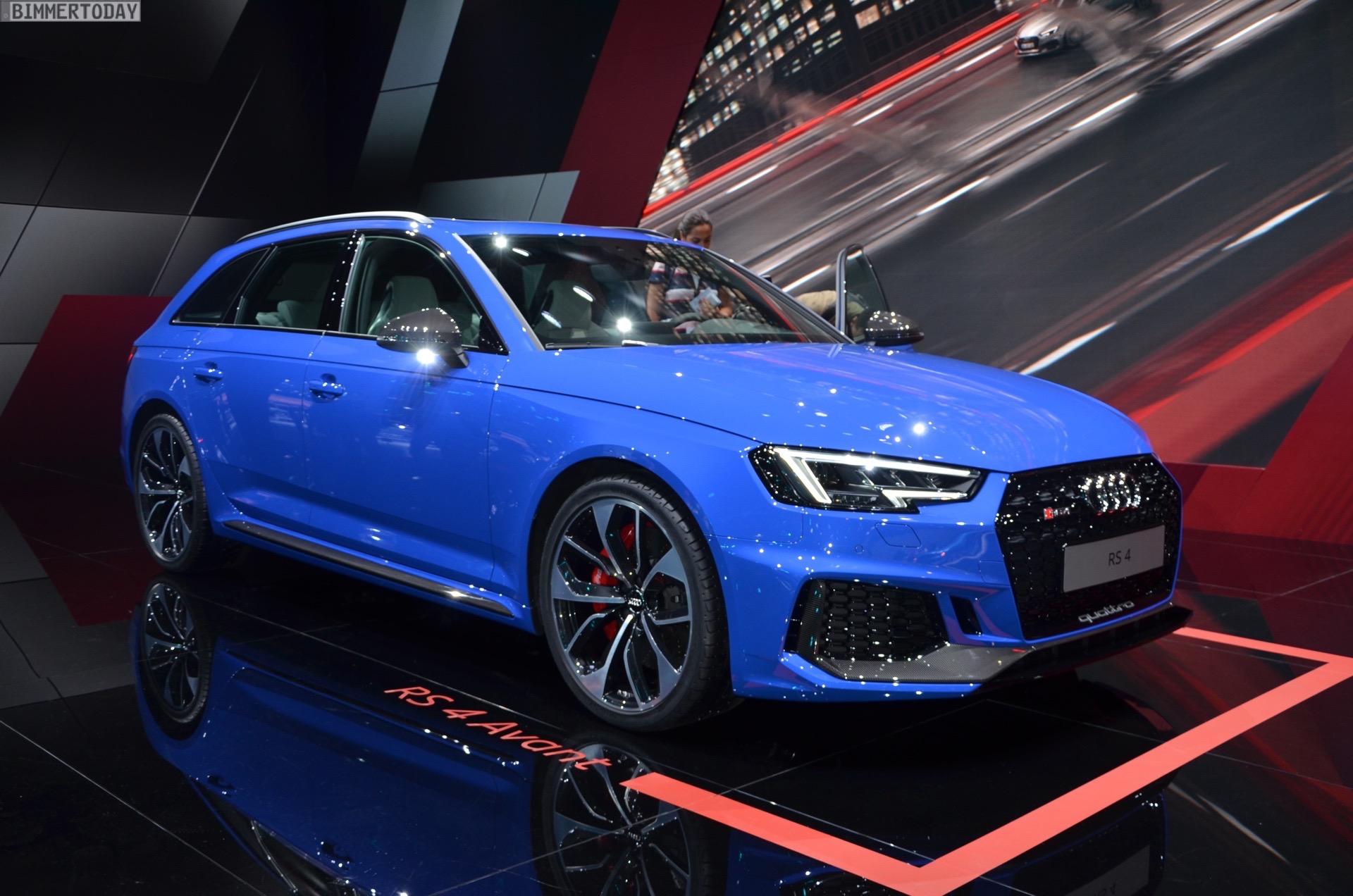 Iaa 2017 Weltpremiere Des Audi Rs 4 Avant Mit V6 Biturbo