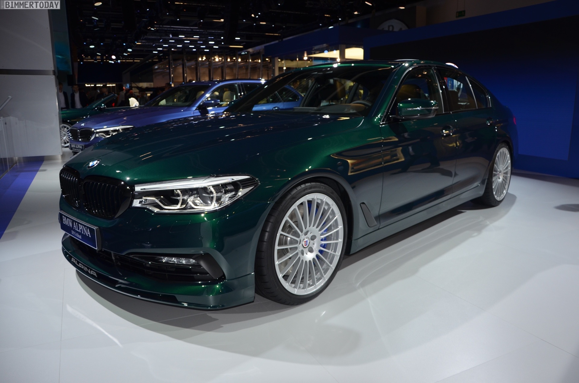 Iaa 2017 Bmw Alpina D5 S G30 Mit 388 Ps Triturbo Live Fotos