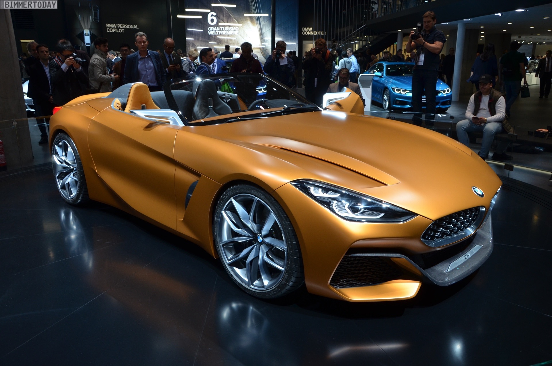 Iaa 2017 Bmw Z4 G29 Roadster Als Concept Car In Frankfurt