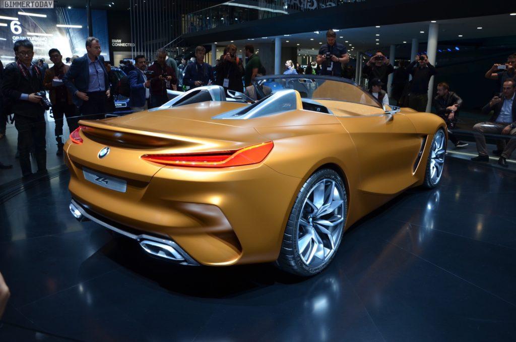 Iaa 2017 Bmw Z4 G29 Roadster Als Concept Car In Frankfurt