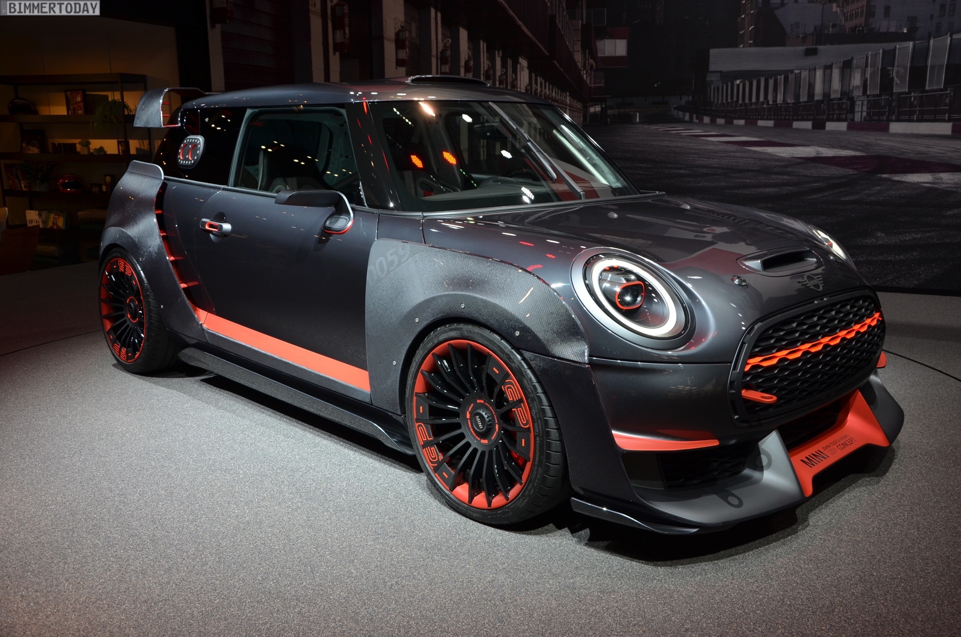 Iaa 2017 Mini John Cooper Works Gp F56 Live Fotos