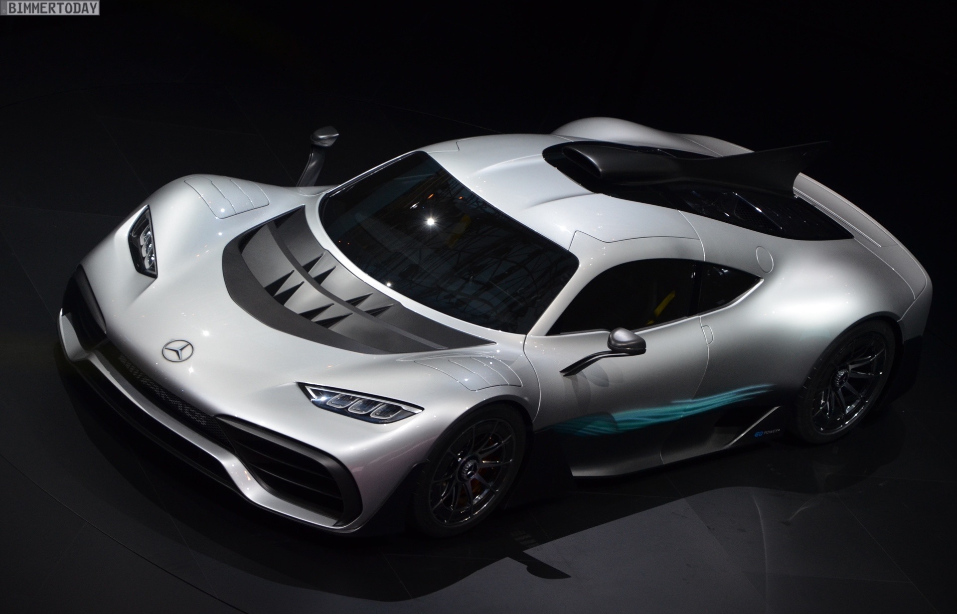 Iaa 2017 Mercedes Amg Project One Mit 252 Ber 1 000 Ps