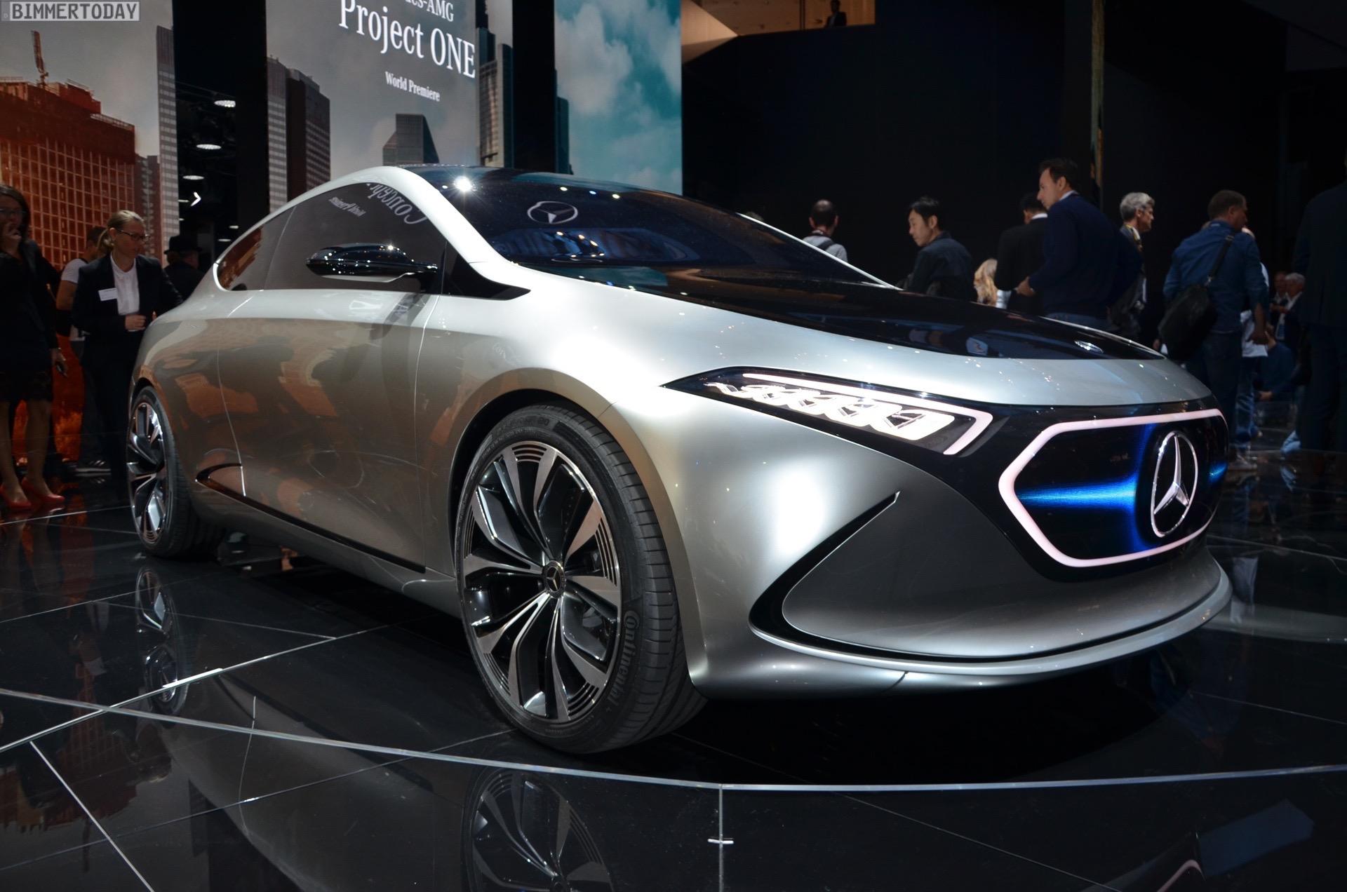 Iaa Mercedes Benz Concept Eqa A Klasse Live
