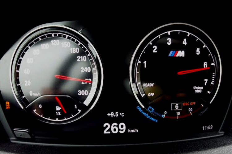 Bmw M2 Facelift 2017 Tacho Video Zeigt Blackpanel Display
