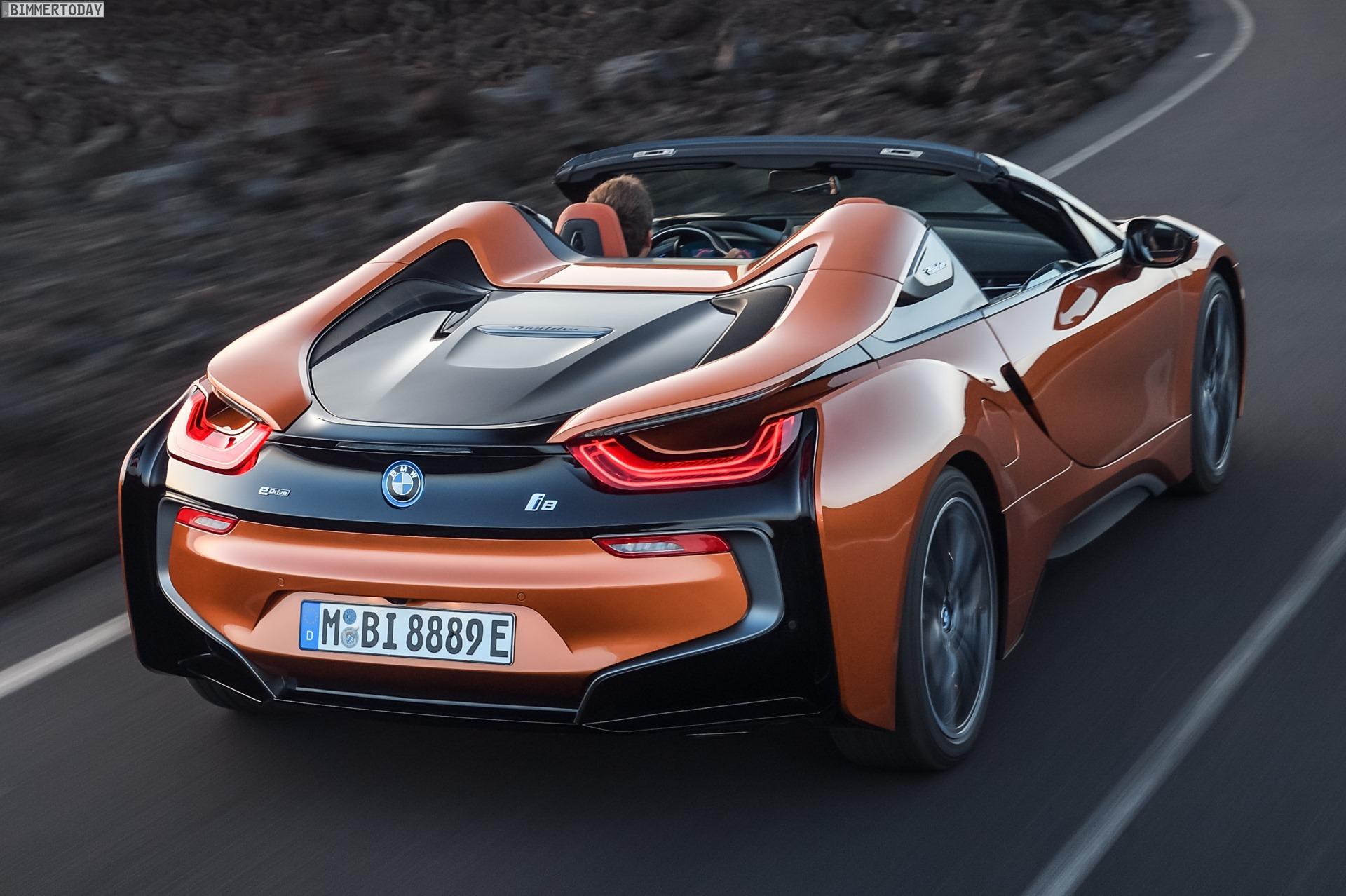 Bmw I8 Roadster Alle Bilder Und Infos Zum Offenen Plug In Hybrid