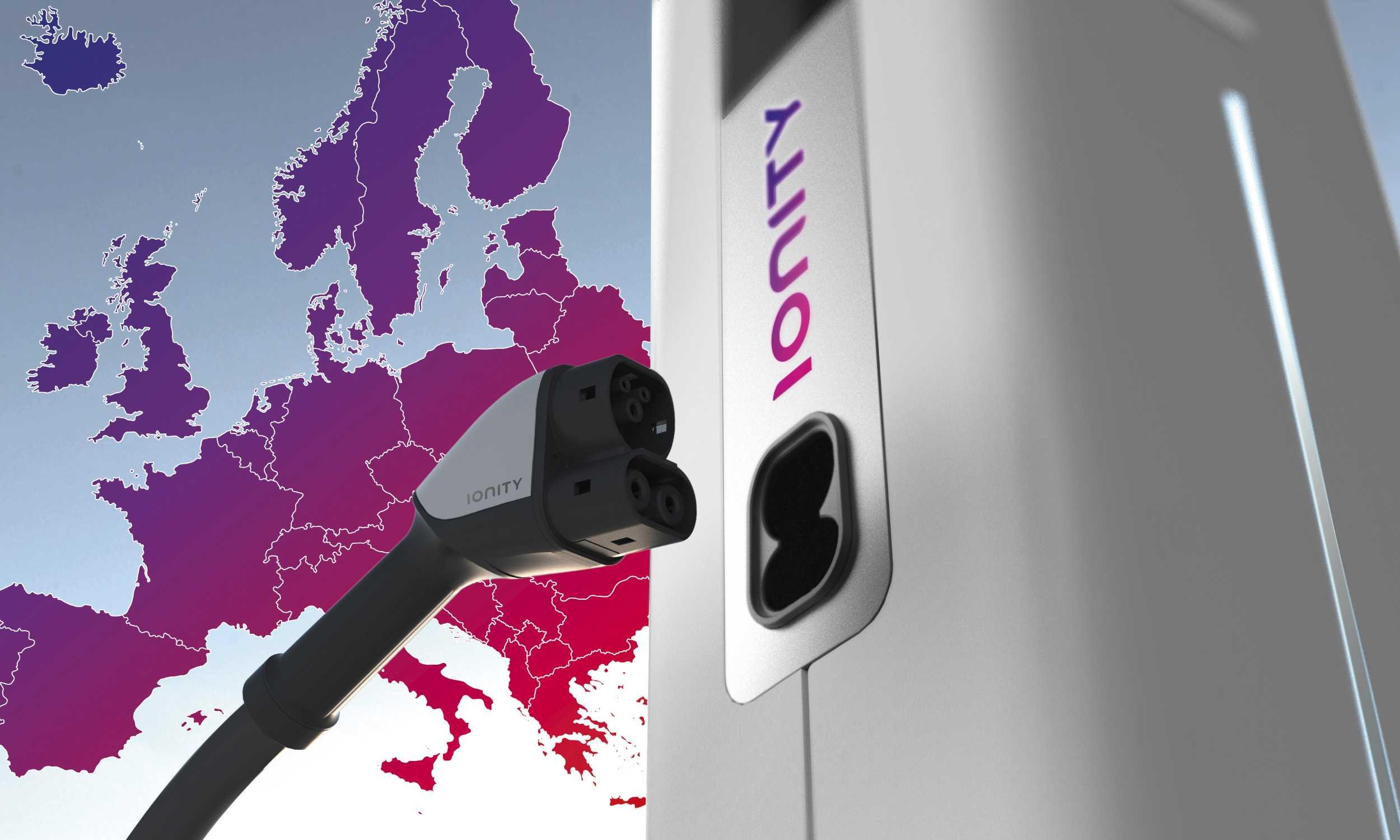 BMW, Daimler, VW und Ford arbeiten beim Ladenetz Ionity für E-Autos ...