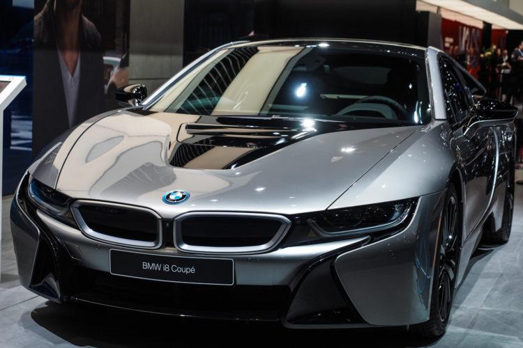 Naias Detroit 2018 Bmw I8 Facelift In Donington Grey