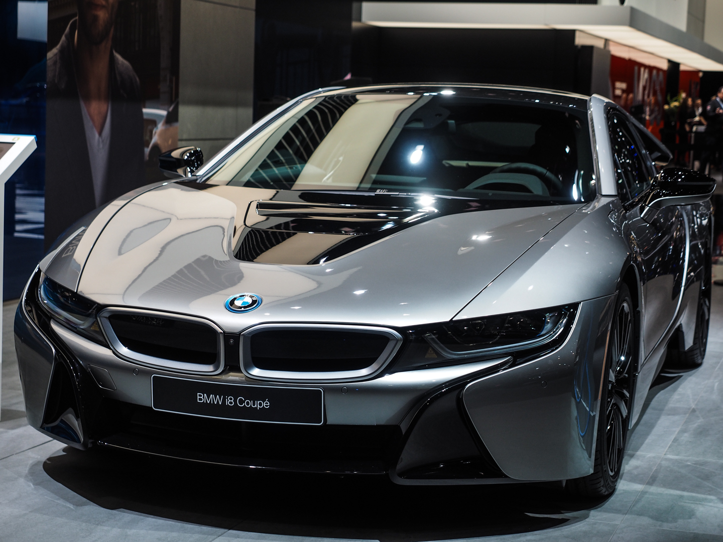 Naias Detroit 2018 Bmw I8 Facelift In Donington Grey