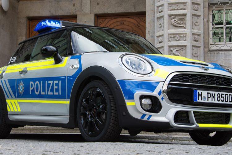Polizei M 252 Nchen Mini Cooper S F56 Erg 228 Nzt Kleinwagen Flotte
