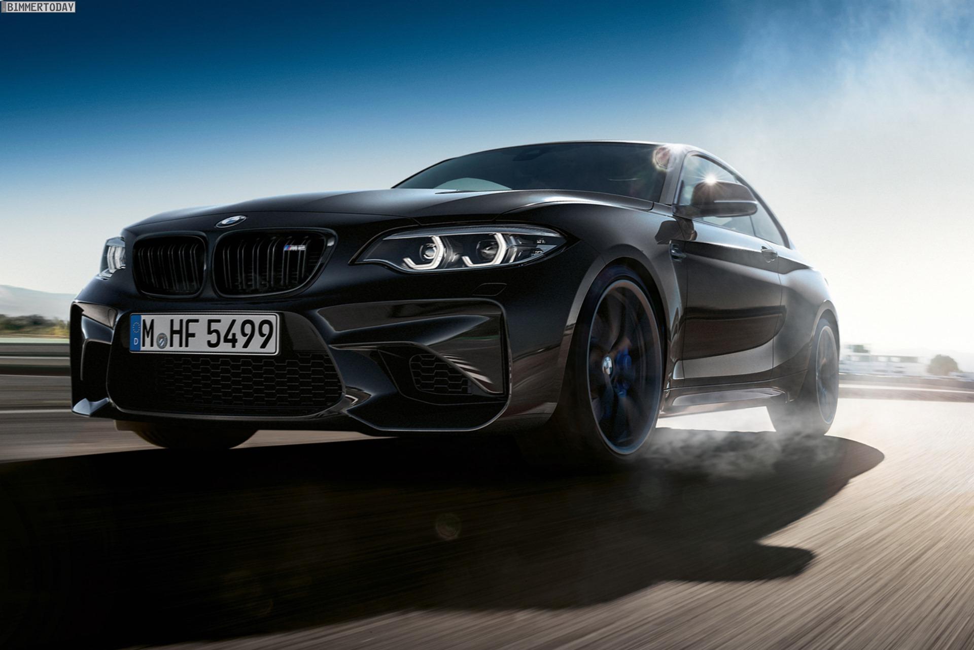 BMW M2 Edition Black Shadow: Abschieds-Tour ganz in Schwarz