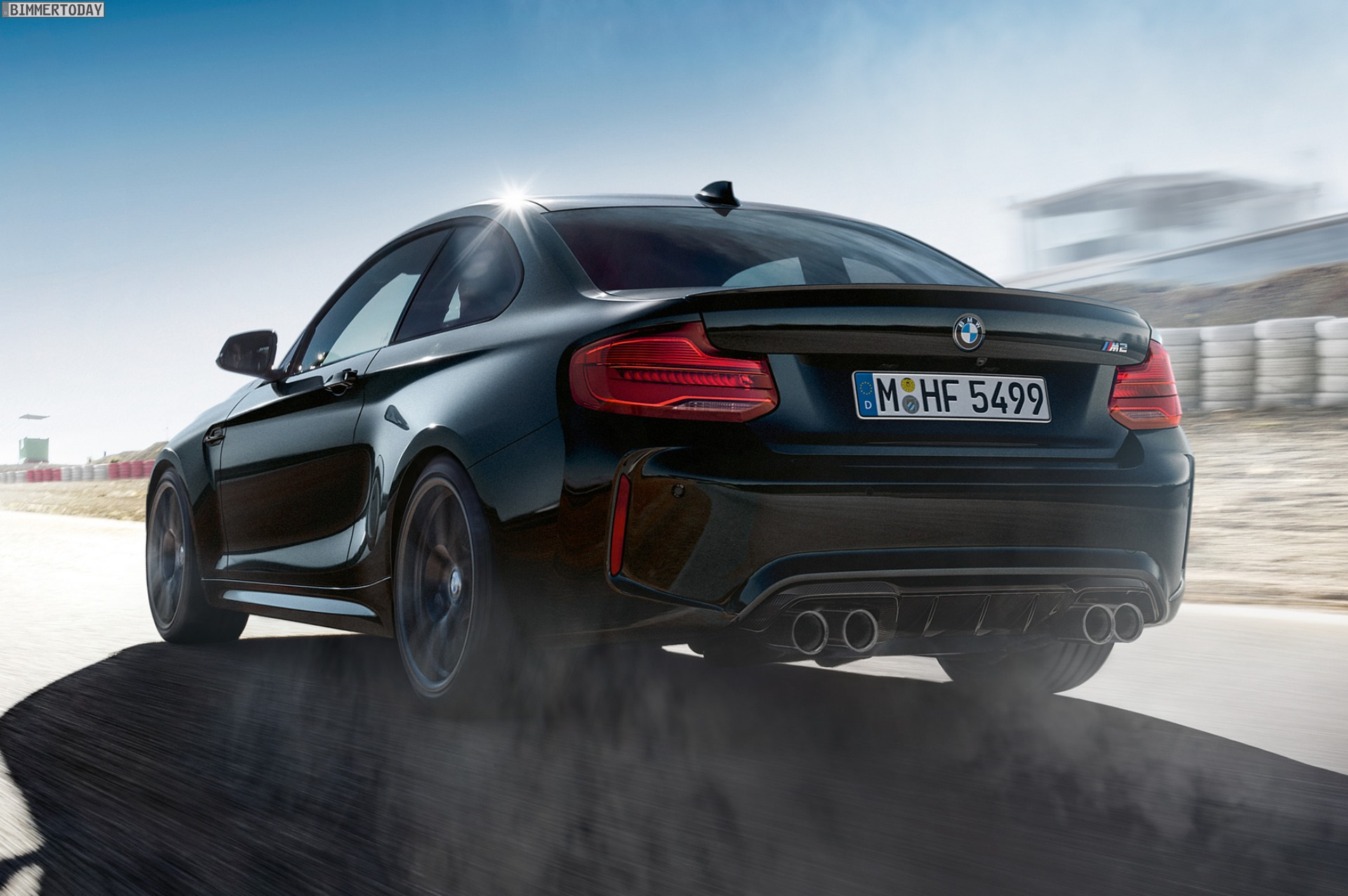bmw m2 edition black shadow abschieds tour ganz in schwarz. Black Bedroom Furniture Sets. Home Design Ideas