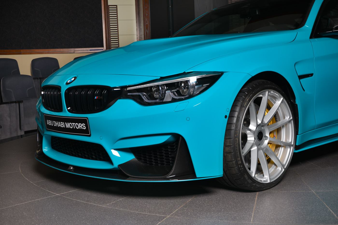 Bmw Individual M4 In Miami Blue Mit M Performance Tuning