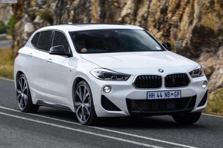 BMW X2 M Sport: Neue Fotos in Alpinweiß und Mineralgrau