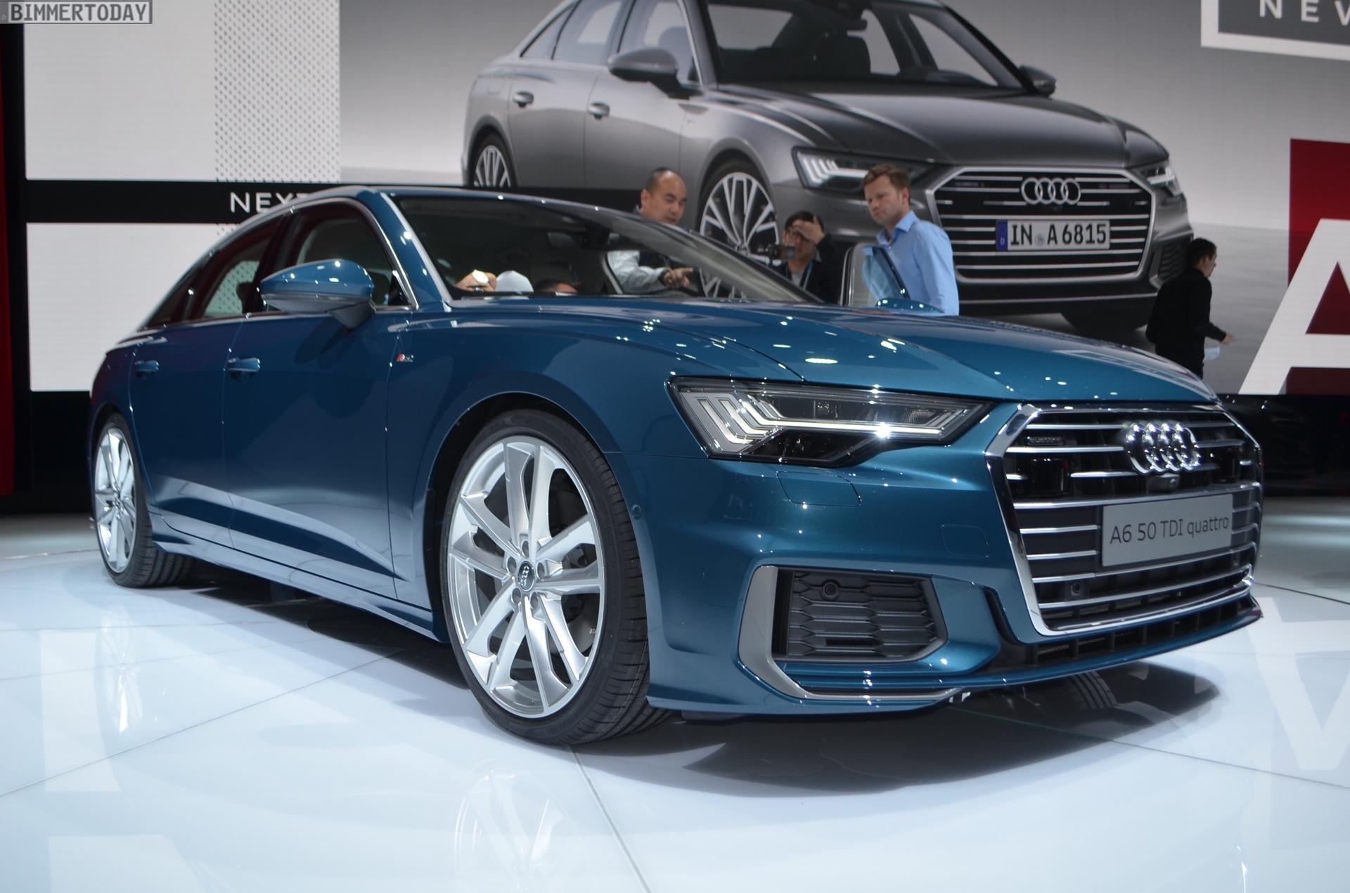 Genf 2018 Live Fotos Zeigen Neuen Audi A6 C8 Mit S Line