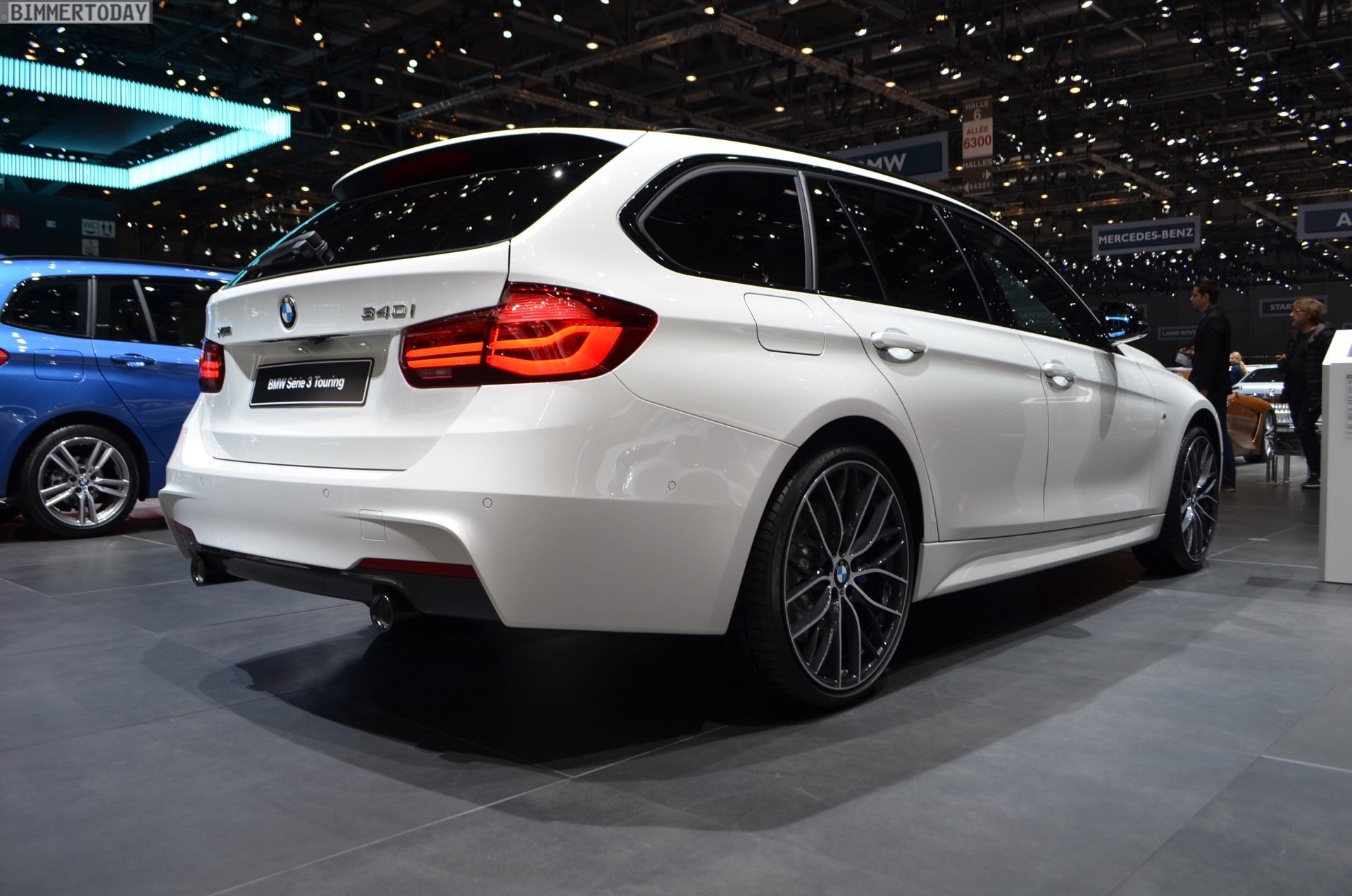 Genf 2018 Live Fotos Bmw 340i Touring Edition M Sport Shadow