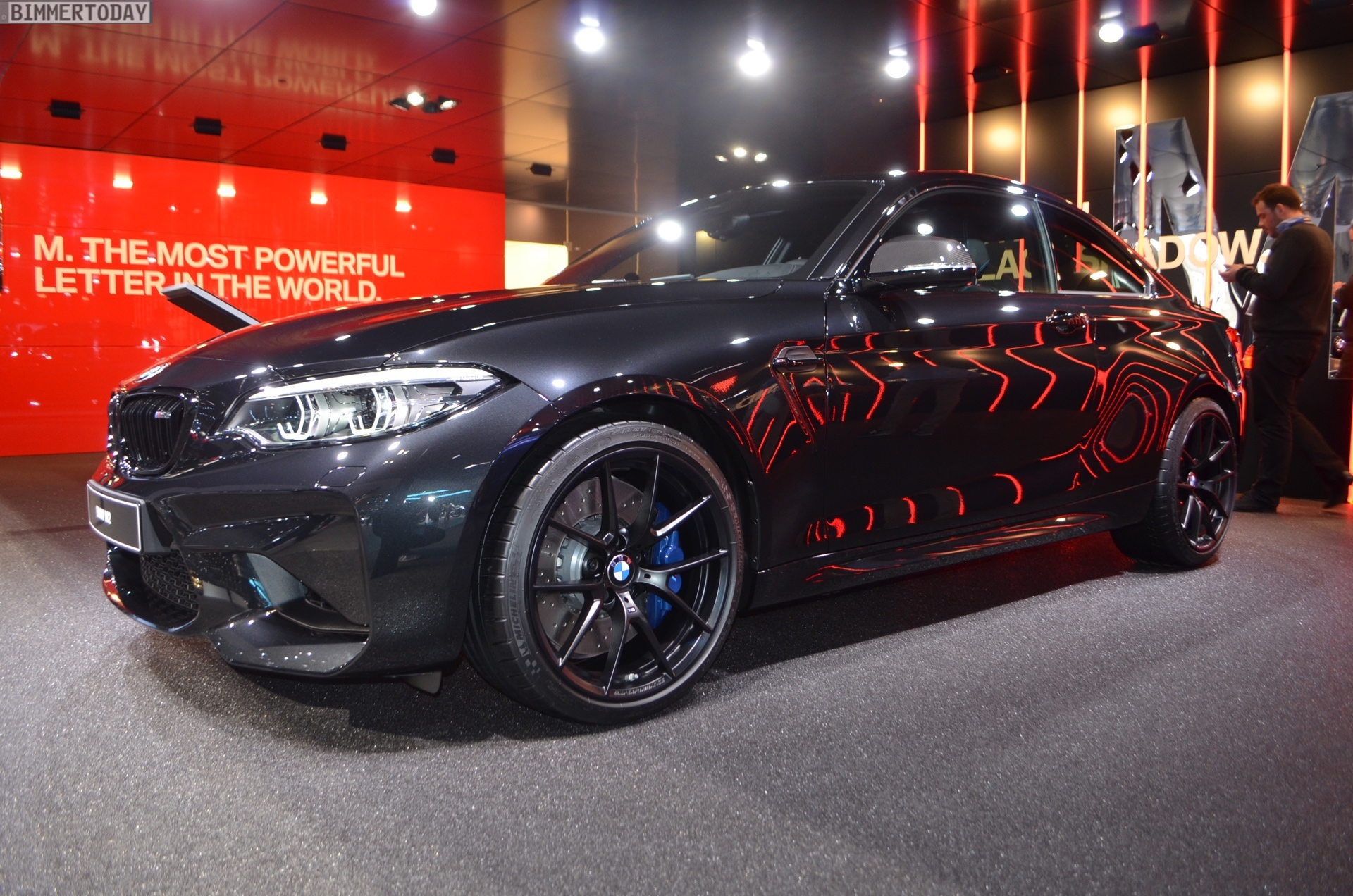 Genf 2018 Live Fotos Zeigen Bmw M2 Edition Black Shadow