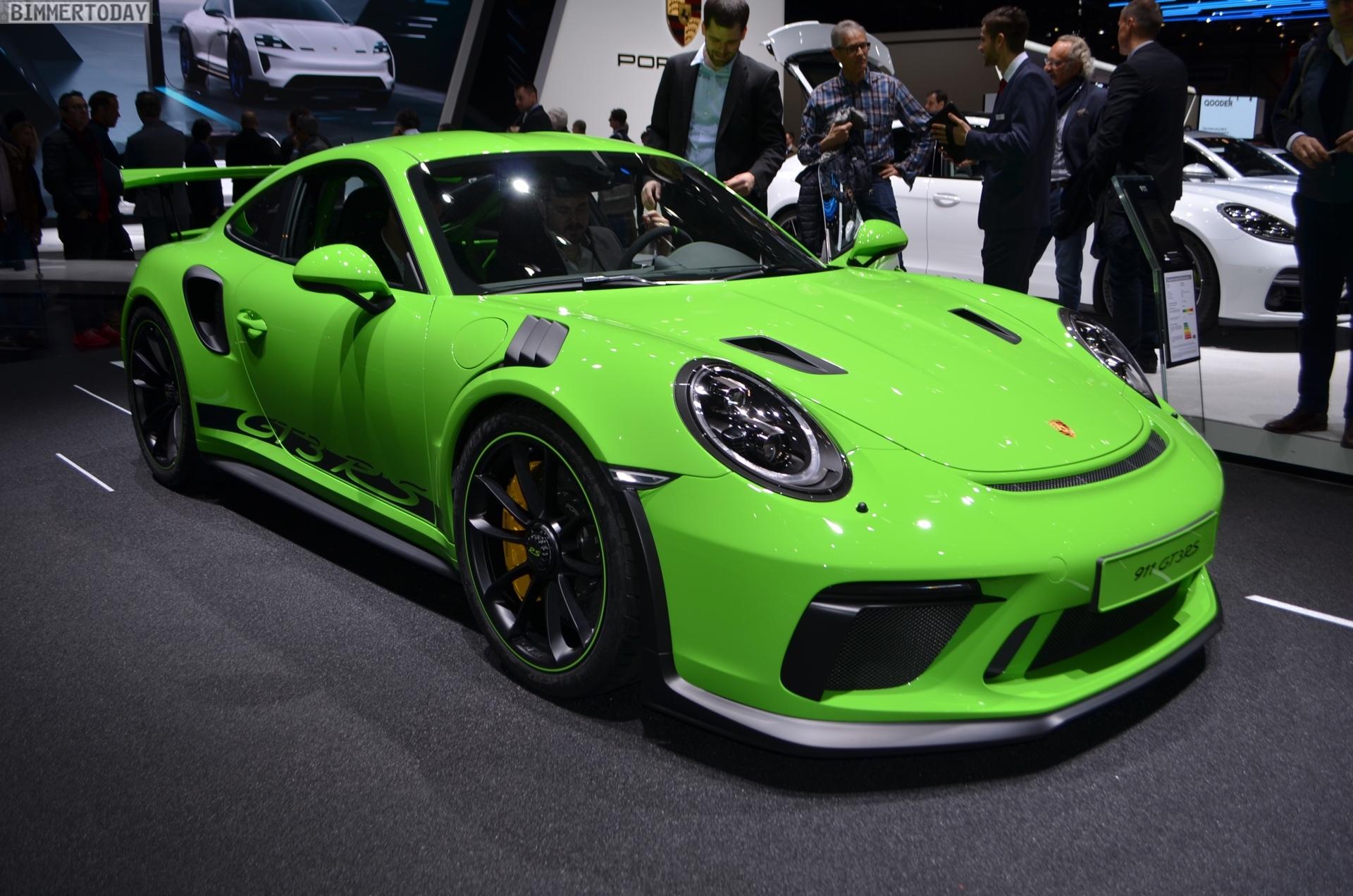 Genf 2018 Live Fotos Vom Porsche 911 Gt3 Rs 991 2