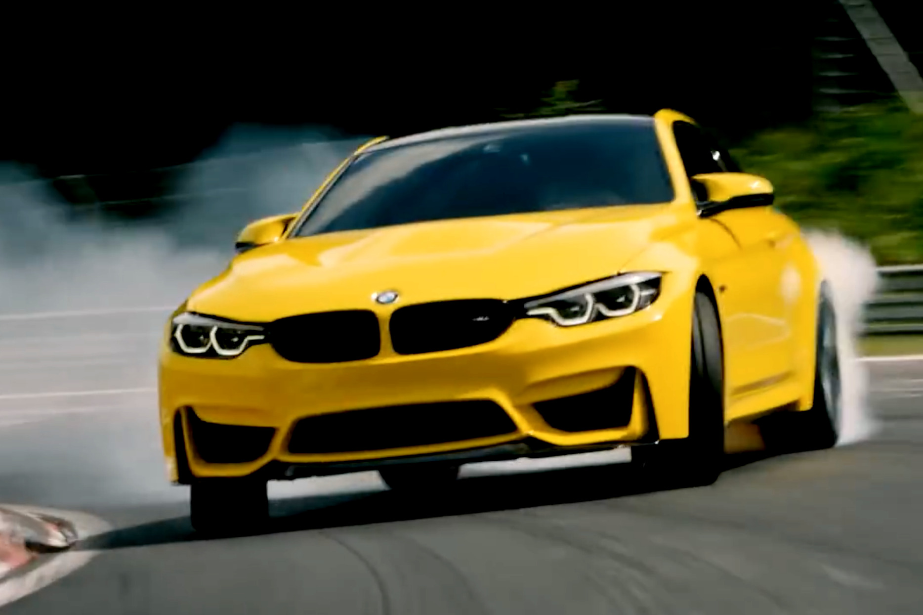 Video N 252 Rburgring Drift Action Mit Rhys Millen Im Bmw M4 Cs