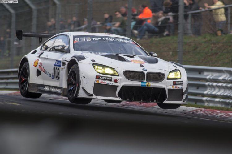 24h N 252 Rburgring 2018 Bmw M6 Gt3 Im Quali Rennen Auf P2