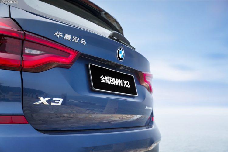 bmw x3 g01: produktion in china hat bereits begonnen