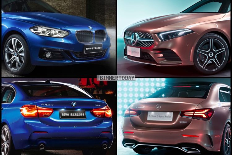 Bild Vergleich Bmw 1er F52 Vs Mercedes A Klasse Limousine